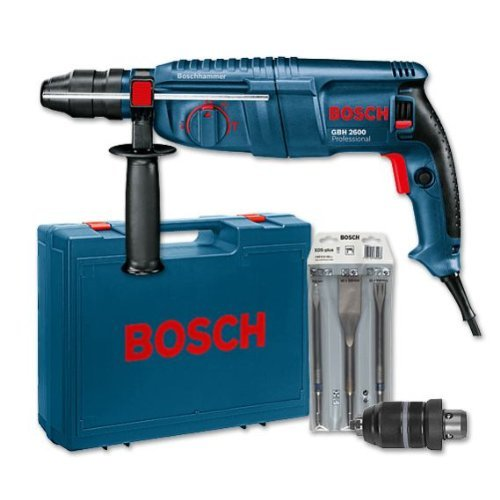 bosch blau gbh 2600 bohrhammer im test neu. Black Bedroom Furniture Sets. Home Design Ideas