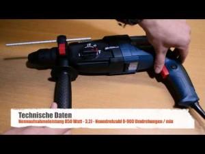 Bosch GBH 2-28 DFV Bohrhammer im Vergleich • NEU • Professional mit L-Boxx